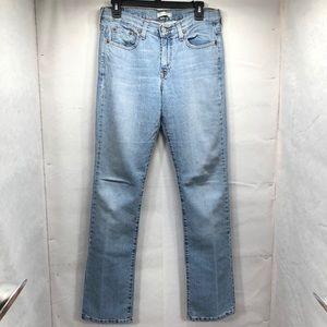 Levi's 505 Straight Leg Size 8L.  A122